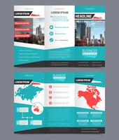 Three fold flyer template