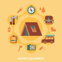 Hiking Equipment For Tourists