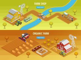Insegne orizzontali isometriche dell'azienda agricola