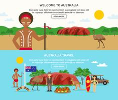 Welcome To Australia Banners