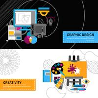 Creative Designer Banners Set