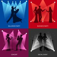 Party-Design-Konzept