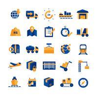 Logistics Icons Set