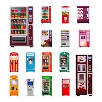 Automaten-Icons Set
