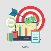 Goal Conceptual illustration Design