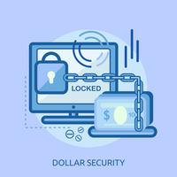 Yen Security Conceptual illustration Design
