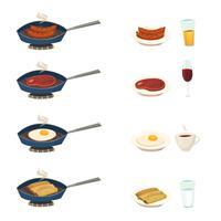 Frukost Pan Set
