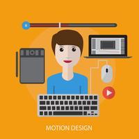 projeto de ilustração conceitual de design de movimento