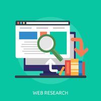 Web Research Konzeptionelle Darstellung