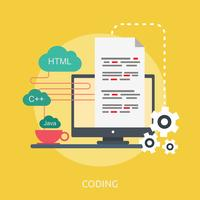 Coding Conceptual illustration Design