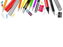Stationery Realistic Background