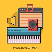 Music Development Conceptual illustration Design