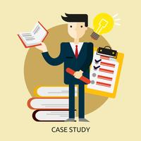Case Study Conceptual illustration Design