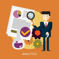 Analytics Conceptual illustration Design
