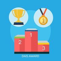 Ilustração conceitual de Dais Award Design