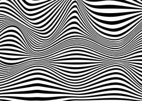 Abstrait illusion d'optique vecteur