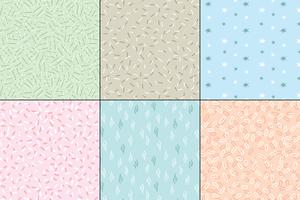 pastel seamless abstract patterns