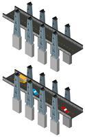Brückendesign im 3D-Design