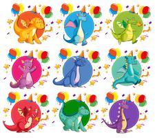 Set di caratteri del drago
