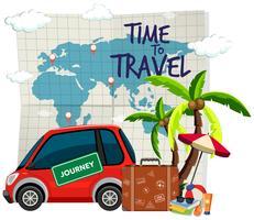 Plantilla de tiempo de viaje