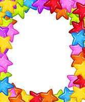 Tarjeta Star Party en blanco