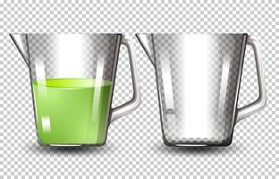 Ensemble de pichets en verre