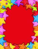 Tarjeta Star Party Red