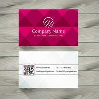 Cartão cor-de-rosa