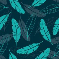 Feathers Seamless Pattern  vector