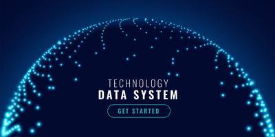 Technologie-Netzwerkverbindung Konzept Banner