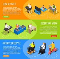 Insegne orizzontali di vita inattiva