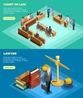 Gericht des Gesetzes Banner