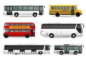 Bus Realistic Set