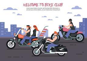 Fond de club de motards
