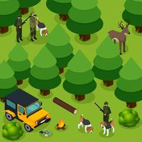 Hunting Isometric Composition
