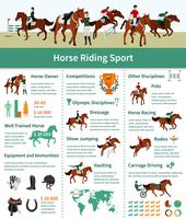 Horse Rising Infographics