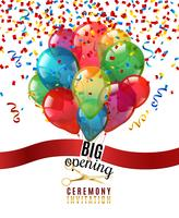 Öppningsceremoni Inbjudan Bakgrund