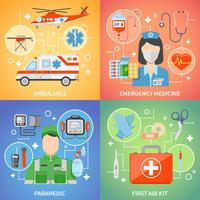 paramedicus 2x2 ontwerpconcept