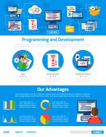 Programming And App Development Advertising Template