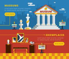 Set di banner del Museo