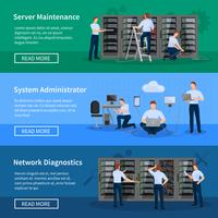 IT Administrator Horizontal Banners