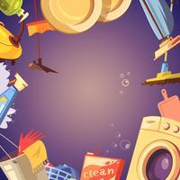 Reinigungsservice-Hintergrund