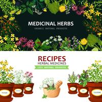 Medicinal Herbs Banners