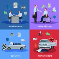 Auto verzekering Concept