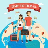 Zeit, flach zu reisen