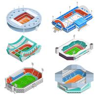 Stadium Icons Set