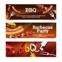 Barbecue Party horizontale Banner