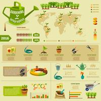 Gardening Infographic Layout