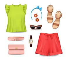 Women Clothing Accessories Set