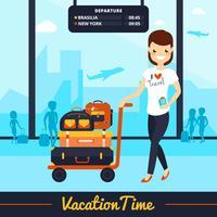 Reisegepäck-Illustration